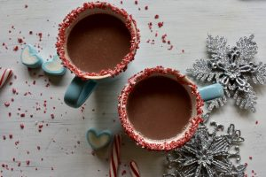 Hot Cocoa Ready for the Whipped Cream