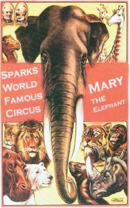 Sparks Famous Circus Poster