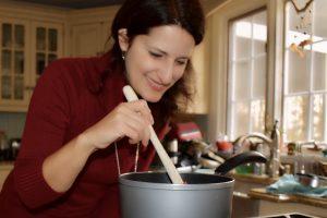 Stirring the Cocoa