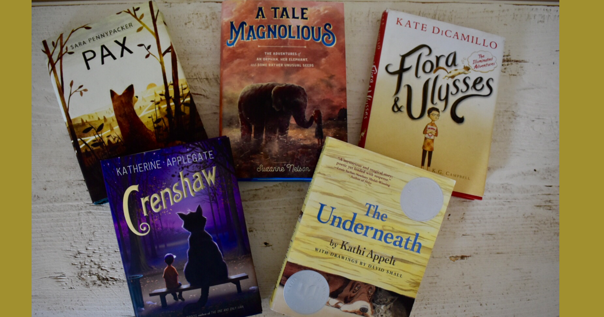 Middle Grade Books for Animal Lovers