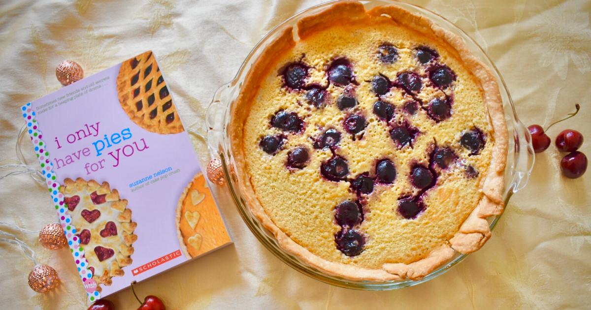 I Cherry-sh You Custard Pie Recipe