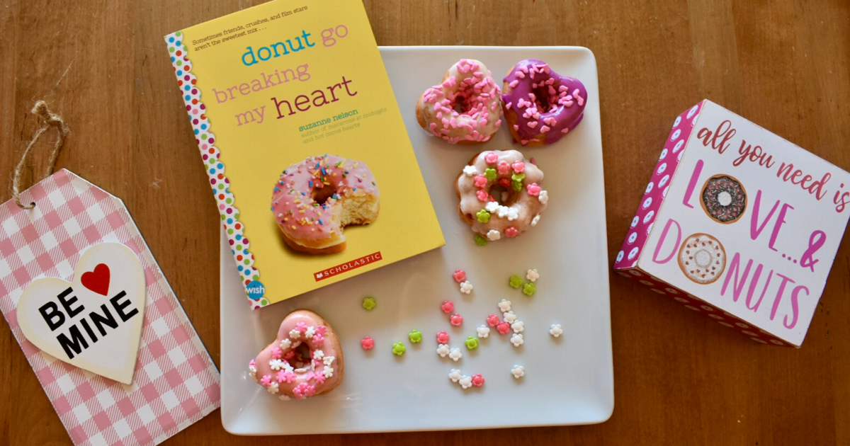 "Valentine's Day ""I'm Glaze-y For You"" Donut Recipe"