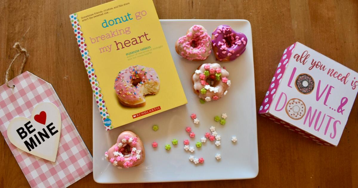 """Valentine's Day """"I'm Glaze-y For You"""" Donut Recipe"""