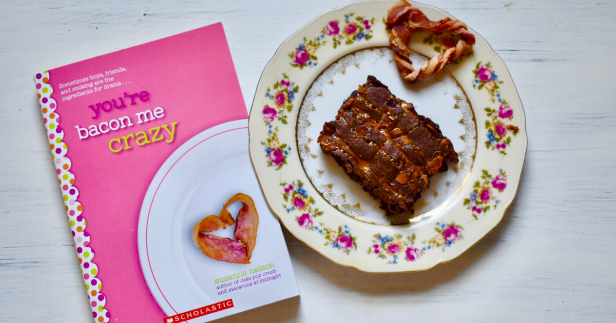 YOU'RE BACON ME CRAZY Bacon-Bits Brownie Recipe