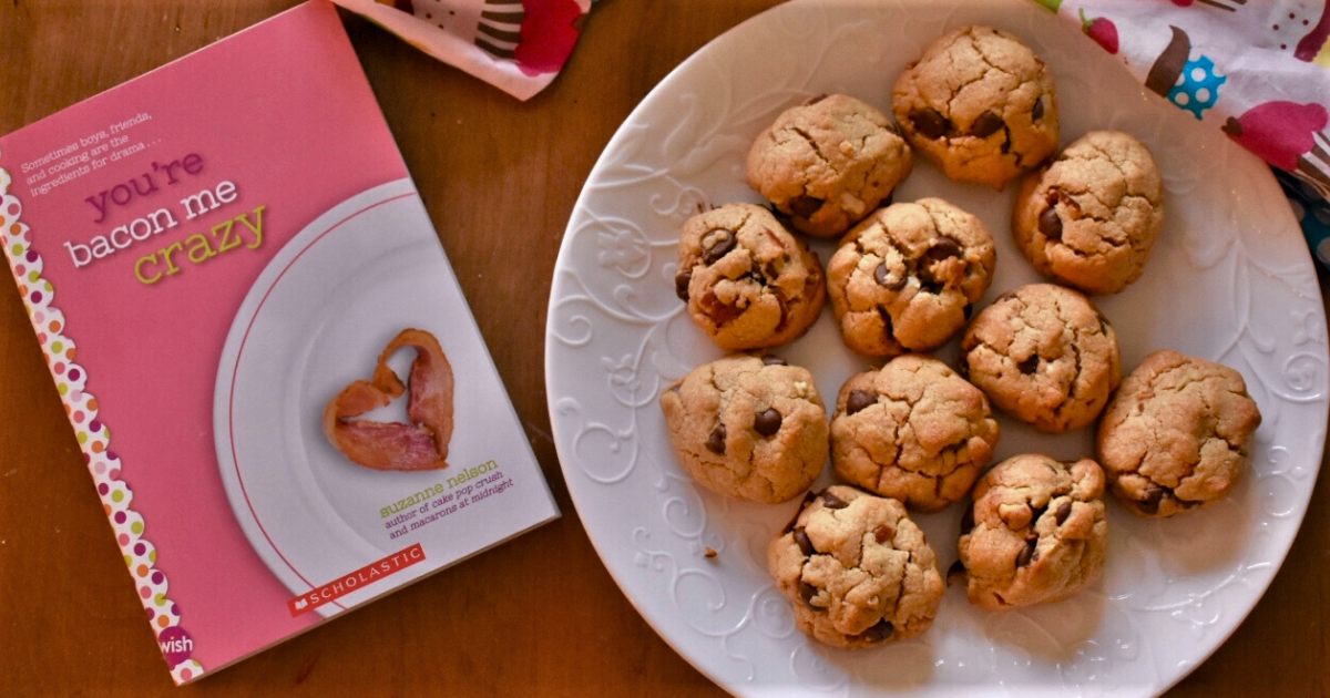 YOU'RE BACON ME CRAZY Bacon Peanut Butter Cookies