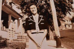 My grandma, Christine Tallman