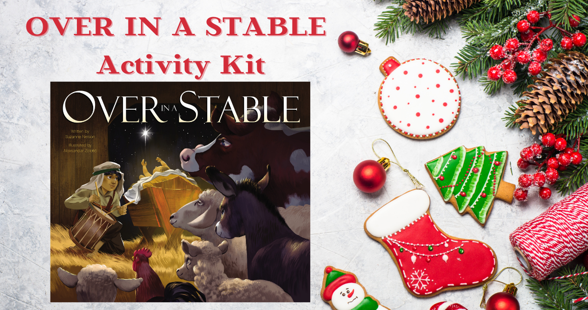 OVER IN A STABLE activity kit
